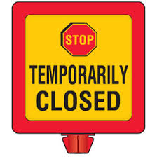 Image result for temporarily closed
