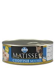 Влажный корм <b>Farmina Matisse</b> Cat Mousse Codfish мусс для ...