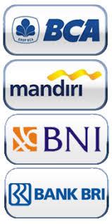 Hasil gambar untuk BCA MANDIRI BNI BRI