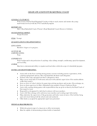 basketball coach resume examples resume format 2017 basketball coach resume examples