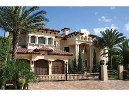 Beautiful Mediterranean Style Home Plans   Home Mediterranean        Awesome Mediterranean Style Home Plans   Luxury Spanish Mediterranean House Plans