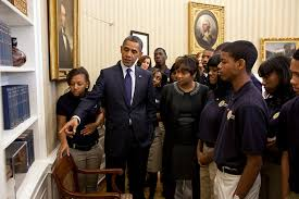 geek in chief barack obama redecorated the oval office with patent models barack obama oval office