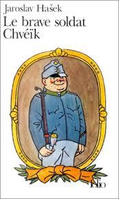 Le brave soldat Chvéïk, de Jaroslav Hasek dans roman