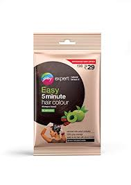 Buy Godrej Expert Easy 5 Minute Hair Colour Sachet – <b>Natural</b> ...