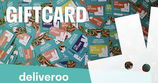 Deliveroo Giftcard Bestellen bezorging van Centrum - Bestel met ...