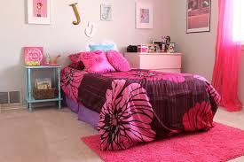 bedroom brown pink teenage room decorations