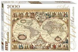 <b>Пазл Step puzzle</b> Историческая карта мира (84003), 2000 дет ...