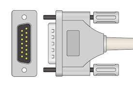 <b>Schiller</b> Compatible Direct-Connect <b>EKG</b> Cable 2.400095 <b>10 Leads</b> ...