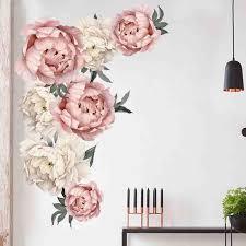<b>Наклейка</b> на стену Пион Роза FlowersArt <b>детские наклейки</b> для ...