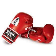 BGG-2018 <b>Боксерские перчатки</b> GYM 10oz красные