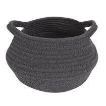 <b>Hand</b>-<b>knitted</b> Toy Storage Basket Fruit Basket <b>Nordic Style</b> Plant Pot ...