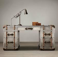 richards metal trunk desk amazing vintage desks