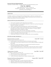 resume for financial advisor sample cover letter investment resum financial advisor resume financial advisor resume