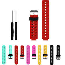 Soft Silicone Strap <b>Replacement</b> Watch Band For Garmin ...