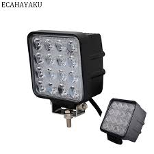<b>ECAHAYAKU 2pcs</b> 48W <b>4 inch</b> LED Work Light spot Flood Driving ...