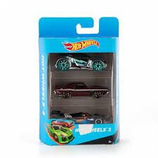 Подарочный <b>набор из 3х</b> автомобилей (в асс.) Hot Wheels K5904 ...
