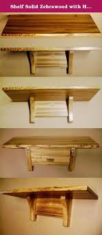 wall shelves uk x: shelf solid zebrawood with hidden wall mounting brackets this beautiful wall shelf is made from