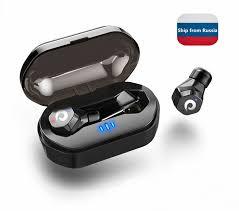 langsdom <b>F8</b> IPX7 <b>TWS</b> Waterproof Mini <b>wireless Bluetooth</b> 5.0 ...