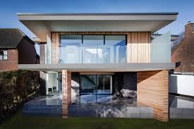 Exquisite Cottage House Pictures The Upside Down Home Maple Beach    Modern Home With Upside Down Layout Views In Hampshire England  in Upside Down Beach House