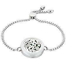JAOYU <b>Aromatherapy Bracelet</b> For Women <b>Essential Oil</b> Diffuser ...