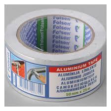 <b>Алюминиевая лента Folsen</b> 50мм x 25м, 63мкм — купить в ...
