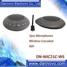 <b>Free Shipping</b>: <b>DANNOVO</b> 2x Wireless Microphones Cascaded for ...