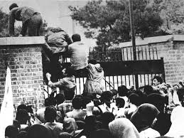 Students Climbing US Embassy Walls