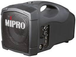 sound system wireless: mipro ma a personal wireless pa system