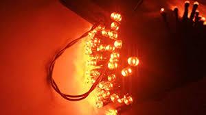 <b>Halloween</b> String Lights, 40ft 100 <b>LED</b> Orange Lights,8Modes ...