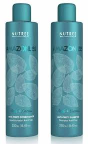 Amazonliss After Care Anti Frizz Shampoo and Conditioner Set 8.45 ...