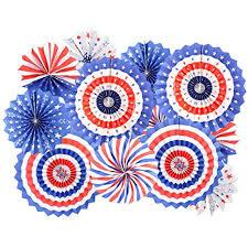 Amazon.com: mifengda 12Pc 4th of July Patriotic Decorations ...