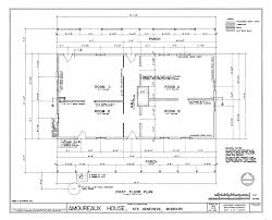 File Drawing of the First Floor Plan   Amoureaux House in Ste    File Drawing of the First Floor Plan   Amoureaux House in Ste Genevieve MO png