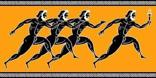 Resultado de imagen de imagenes de atletas griegos