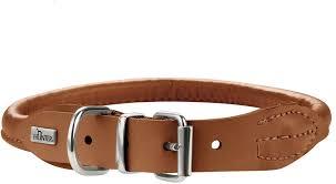 <b>Hunter ошейник</b> для собак Round&Soft Elk 37/6 (30-33 см), коньяк ...