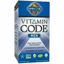 Garden of Life GOL11419 <b>Men Multivitamin</b> Supplement <b>240</b> ...