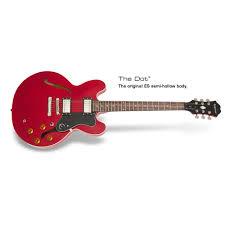 Купить <b>гитару полуакустическую Epiphone DOT</b> CHERRY CH ...