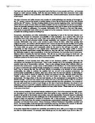 slow food movement essay   a level miscellaneous   marked by    page  zoom in