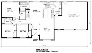 House Plans Canada   Stock CustomThe Haldimand bungalow house plan