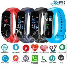 Men Smart Sports watch blood pressure heart rate monitor ... - Vova