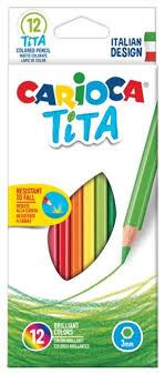<b>Carioca Карандаши цветные Tita</b> 12 цветов (42793) — купить по ...