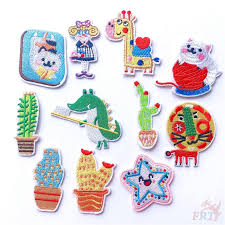 <b>Patch 1Pc Cartoon Patch</b> Diy Iron-on/Sew-on <b>Embroidered</b> Clothes ...