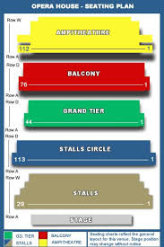 What    s on at Royal Opera House  London  WC E DDSeating Plan