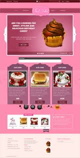 best sweet shop website templates themes premium bootstrap responsive web for sweet cakes