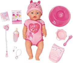 <b>Кукла Zapf</b> Creation <b>Baby Born</b> интерактивная, 43 см — купить в ...