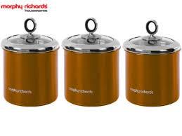 NEW MORPHY RICHARDS <b>3 PIECE</b> TEA COFFEE SUGAR ...
