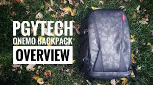 <b>PGYTech OneMo Backpack</b> Overview | Camera/Drone Adventure ...