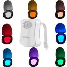 Colorful Motion Sensor Toilet Night Light, Oenbopo ... - Amazon.com