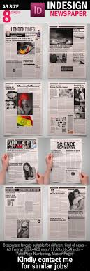 bw newspaper template by graphix shiv graphicriver bw newspaper template newsletters print templates