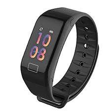 WEARFIT <b>Smart Bracelet Waterproof Fitness</b> Activity Tracker ...