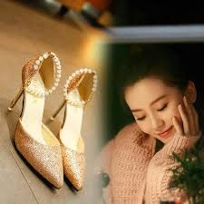 <b>2019</b> Summer High Heel <b>Stiletto Pointed Side</b> Korean Version Of ...